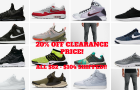 Extra 20% off Nike Clearance Sale!! (Top Deals 1/30/17)