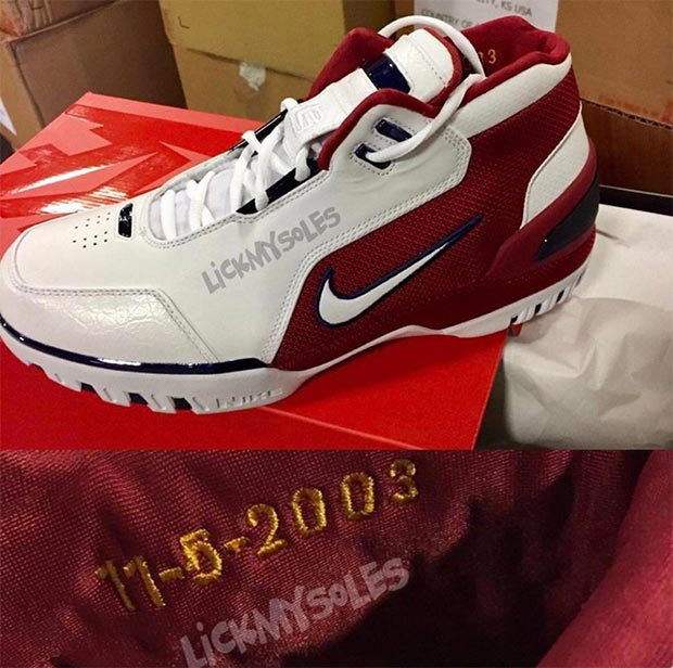c71990918047 Lebron s First Nike Sneaker is Finally Getting a Retro! - Collective ...