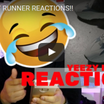 REACTIONS TO NEW YEEZY RUNNER FROM YEEZY SEASON 5!!