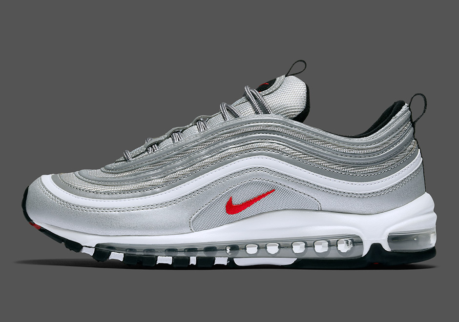 f6a276259f62d6 Nike Air Max 97 Silver Bullet US Release Date - Collective Kicks