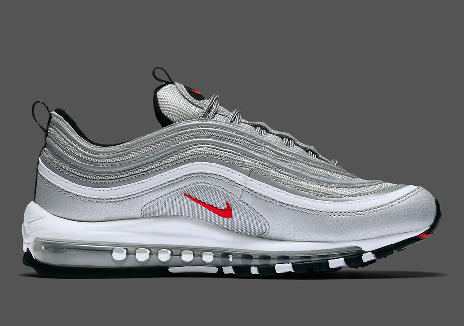nike air max 97 silver junior