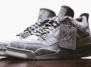 kaws-air-jordan-4-grey