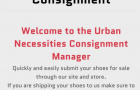 Online Consignment Now Available via Urban Necessities!