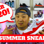 TOP 5 SUMMER SNEAKERS UNDER $120! (2017)