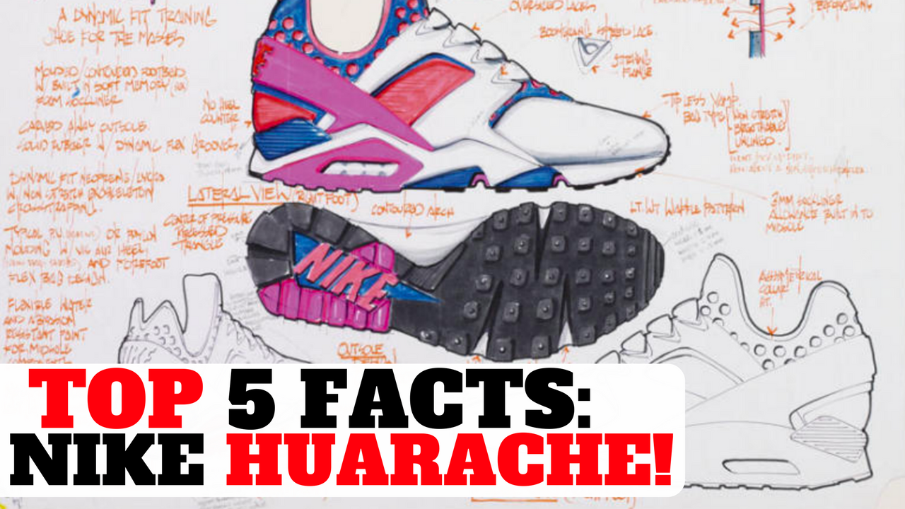 TOP 5 FACTS: NIKE AIR HUARACHE! (EVERYTHING YOU NEED TO KNOW) - Collective  Kicks