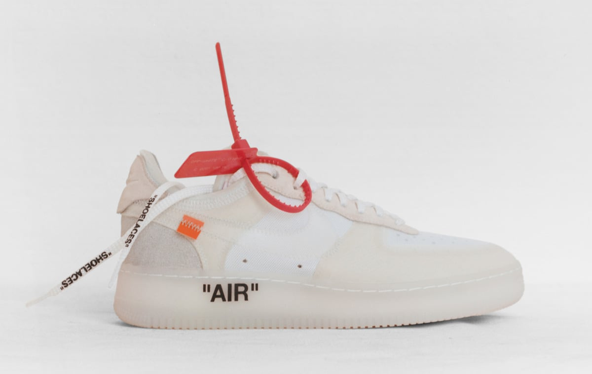 "3df92267156f Rate ""The Ten"" From the Off-White x Nike Collaboration (Interactive ..."